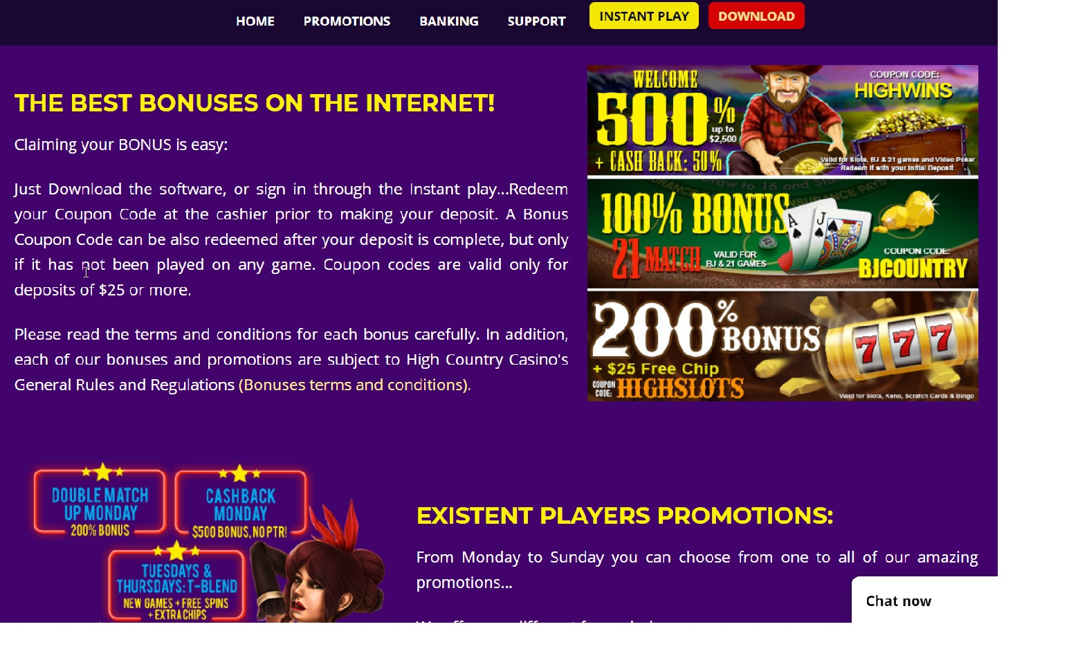 High_Promo_500%_Bonus_casino