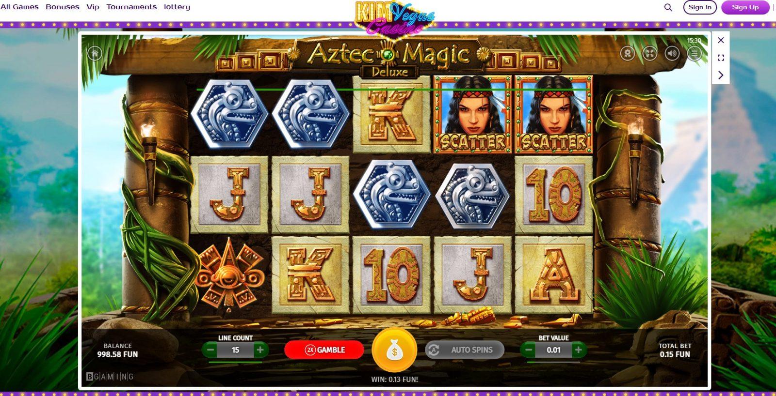 kim_vegas_casino_Aztec_of_Magic