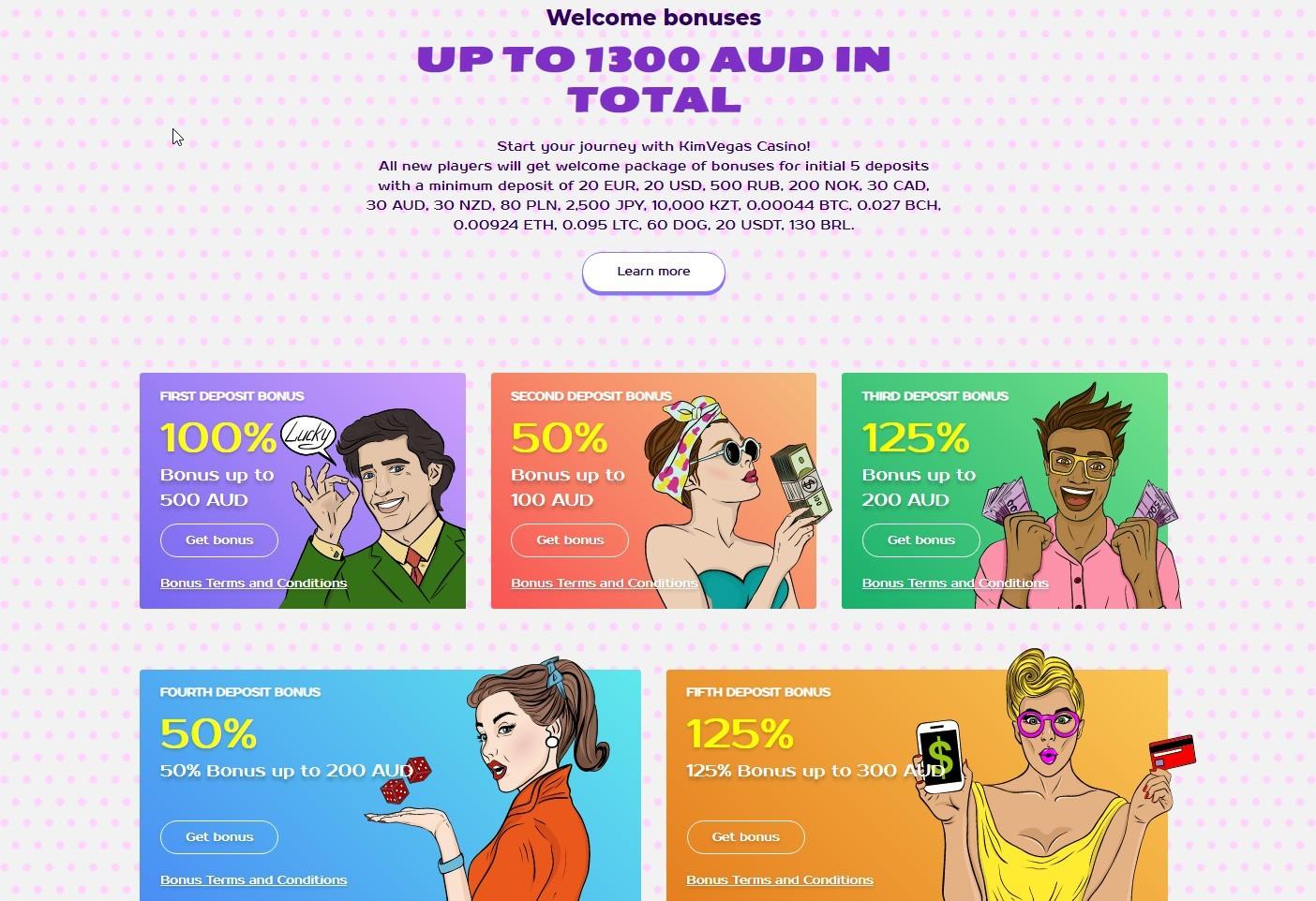 kim_vegas_casino_hottopcasino_welcome_bonus_100%_up_to_500AUD