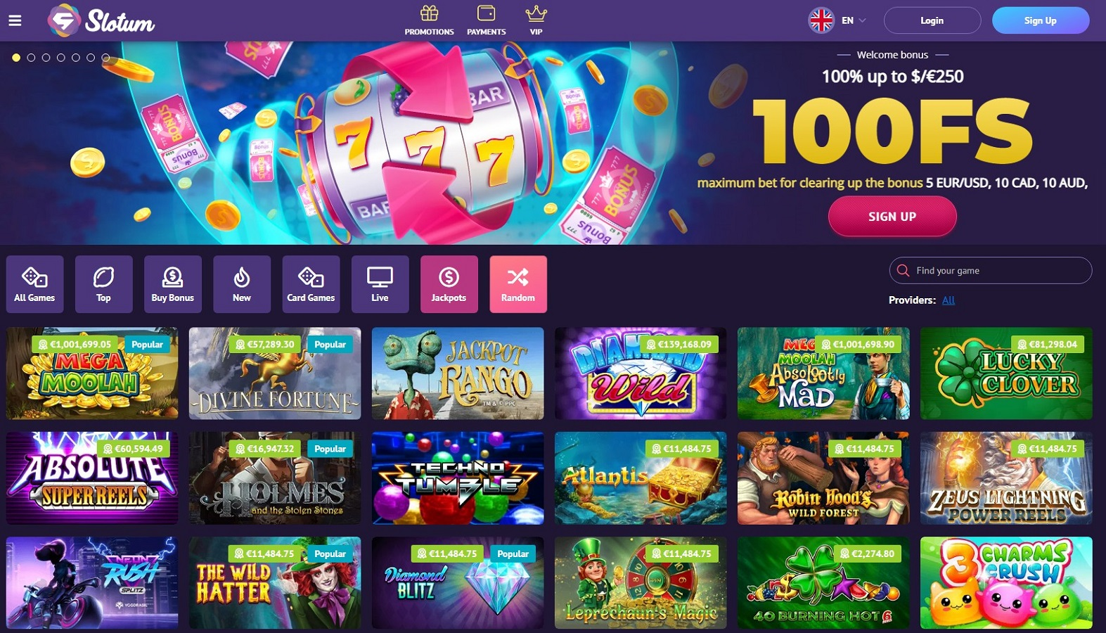Slotum_casino_hot_top_casino